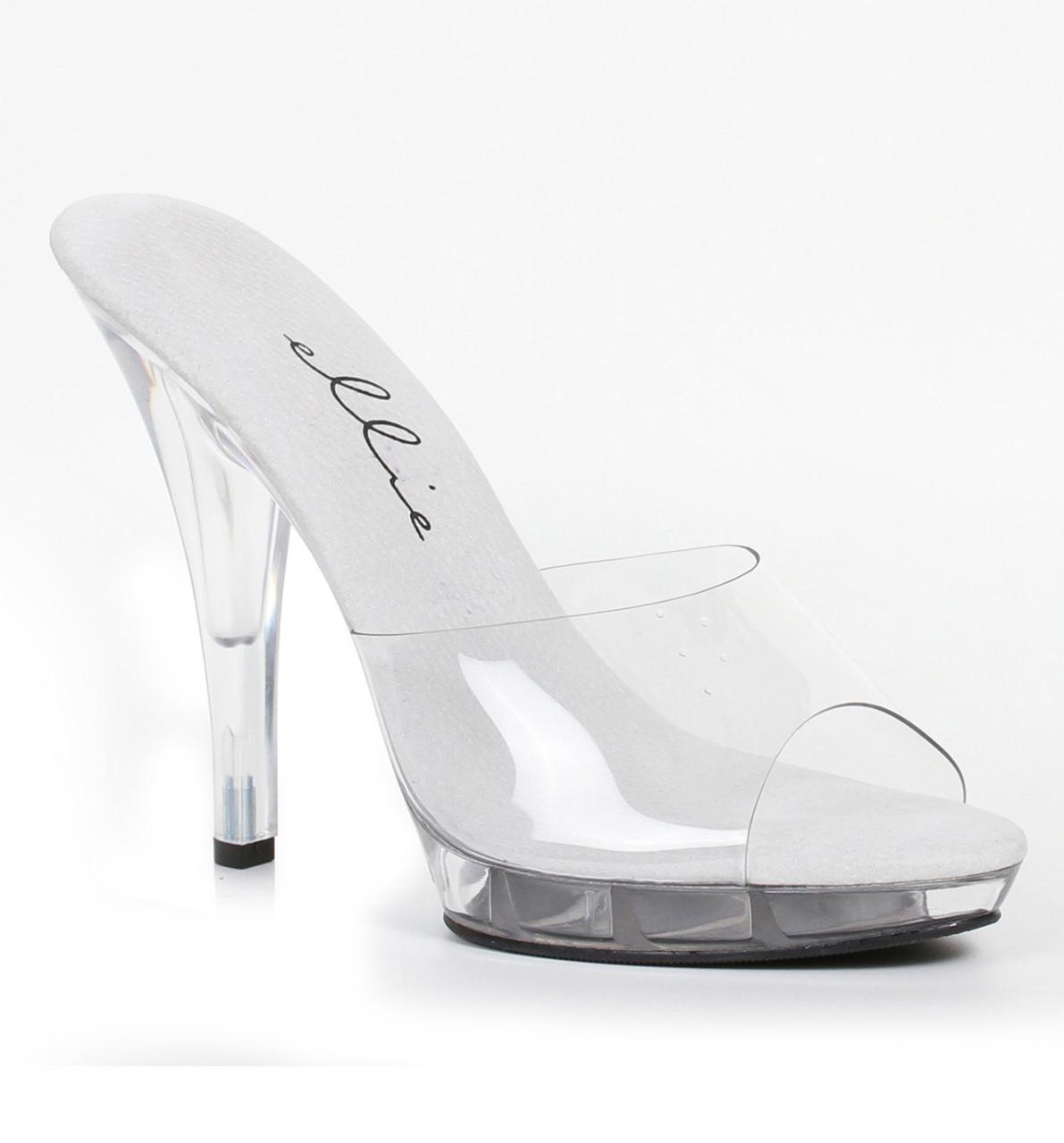 521-Vanity-W, 5 Inch Clear Wide Width Slide