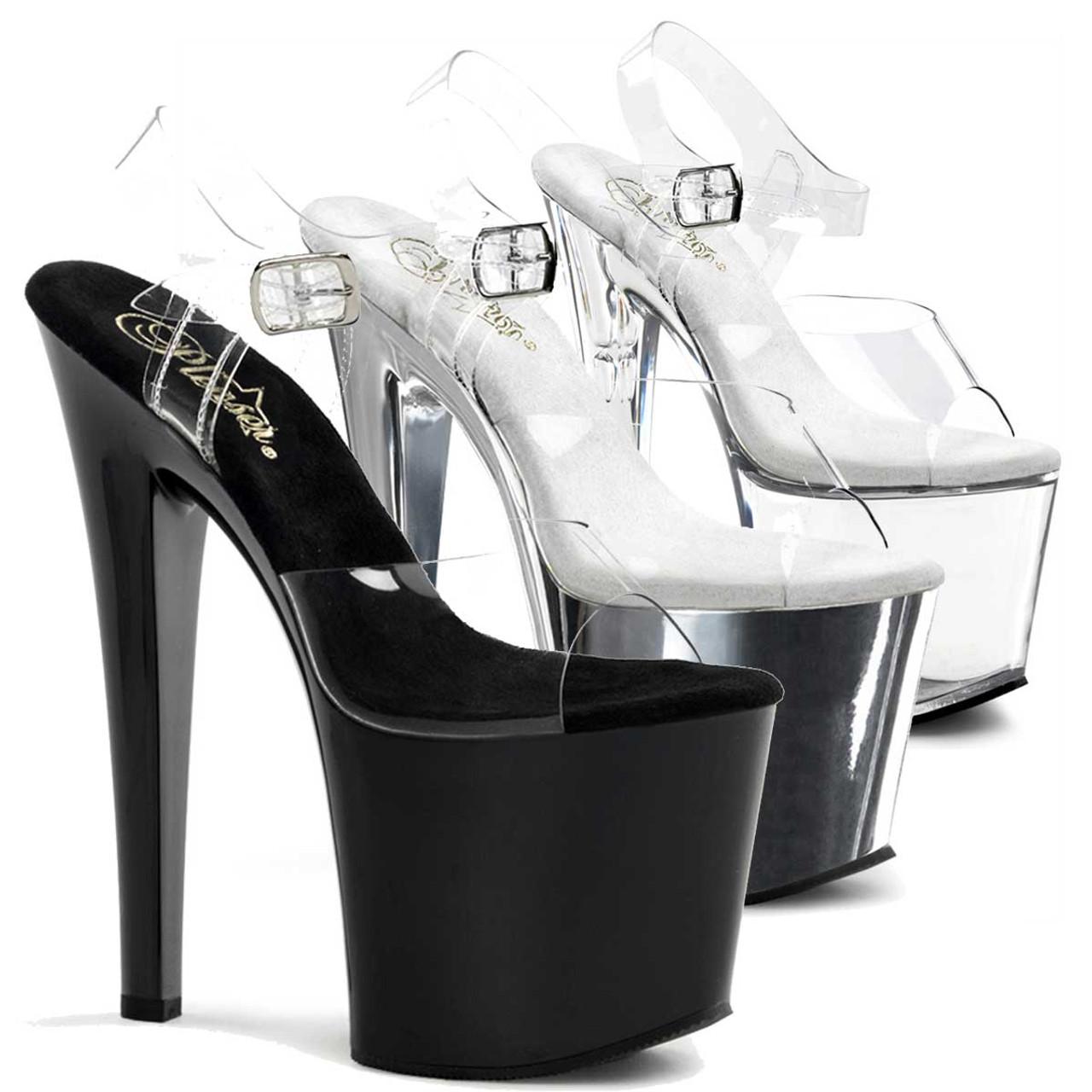 TABOO-708, 7.5 Inch Stripper Platform Shoes