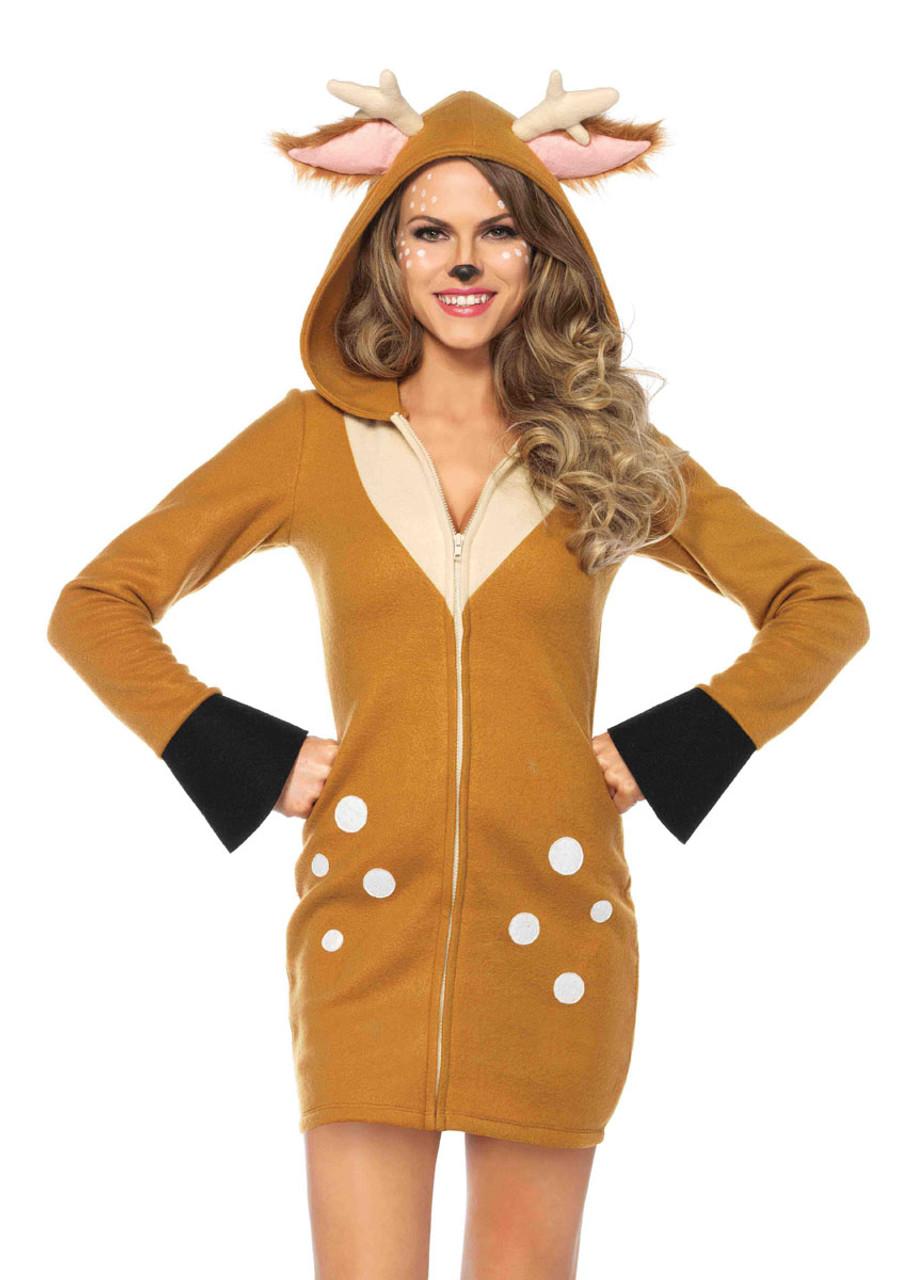 New Leg Avenue 85576 Cozy Panda Halloween Costume