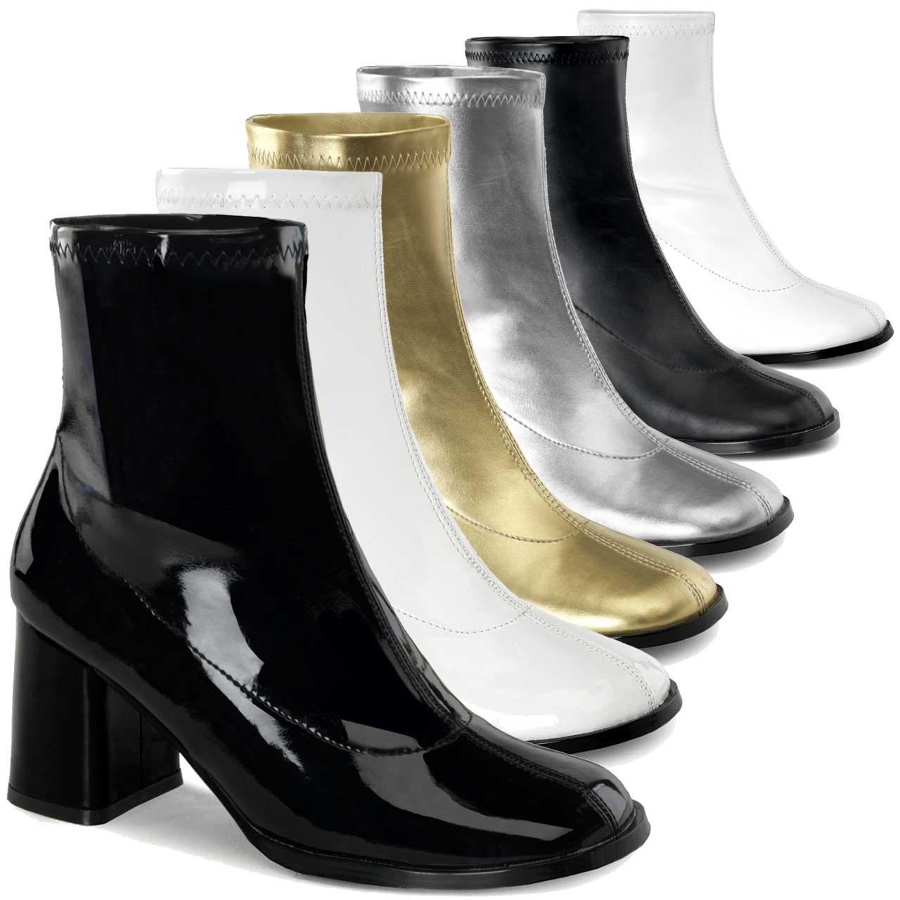 Disco Short Go Go Ankle Boot