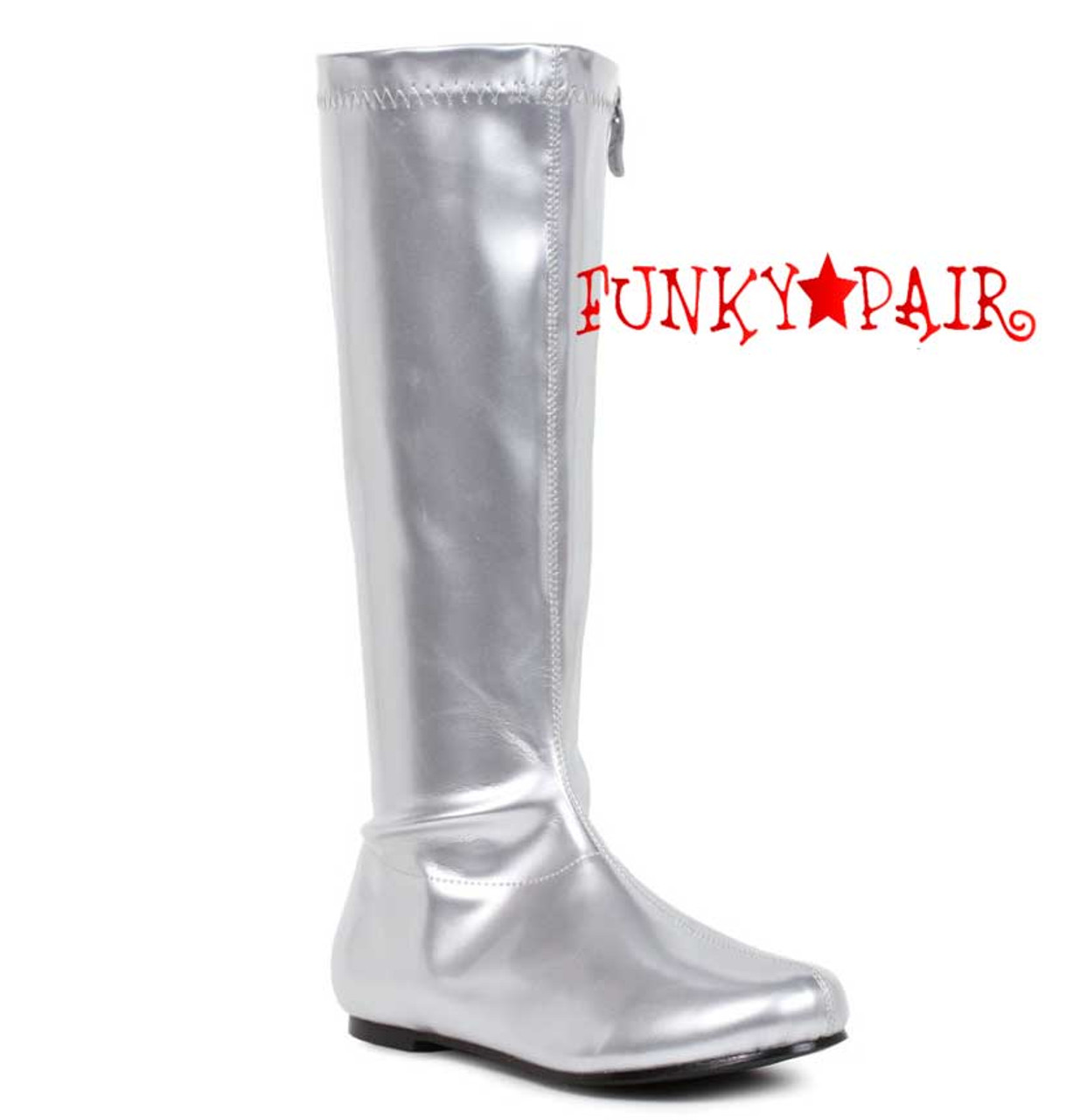 50% price super cheap authentic quality 106-Avenge 1 Inch Flat Knee High Boots