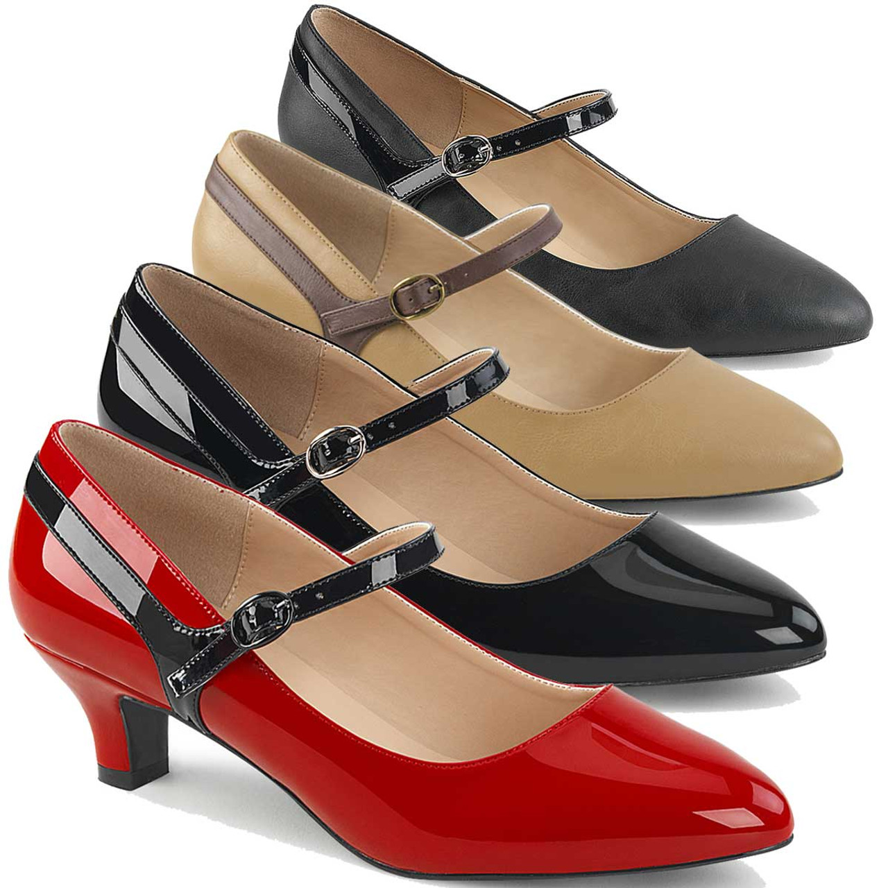 mary jane shoes kitten heel