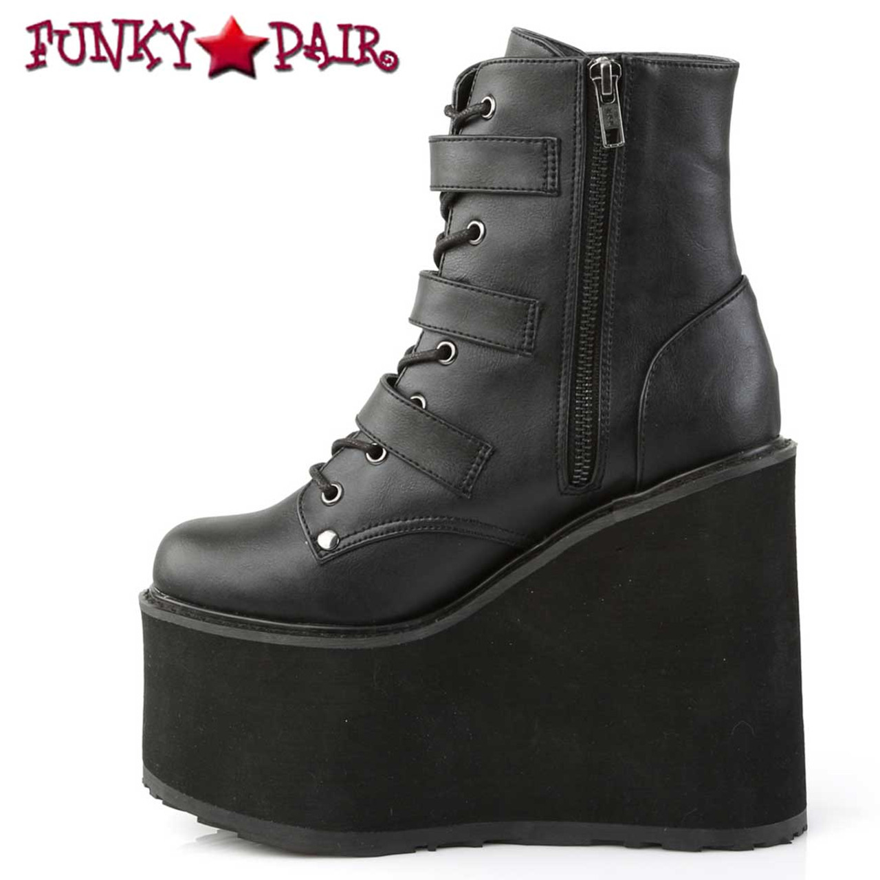 Demonia Womens Swing-105 Ankle-High Boot