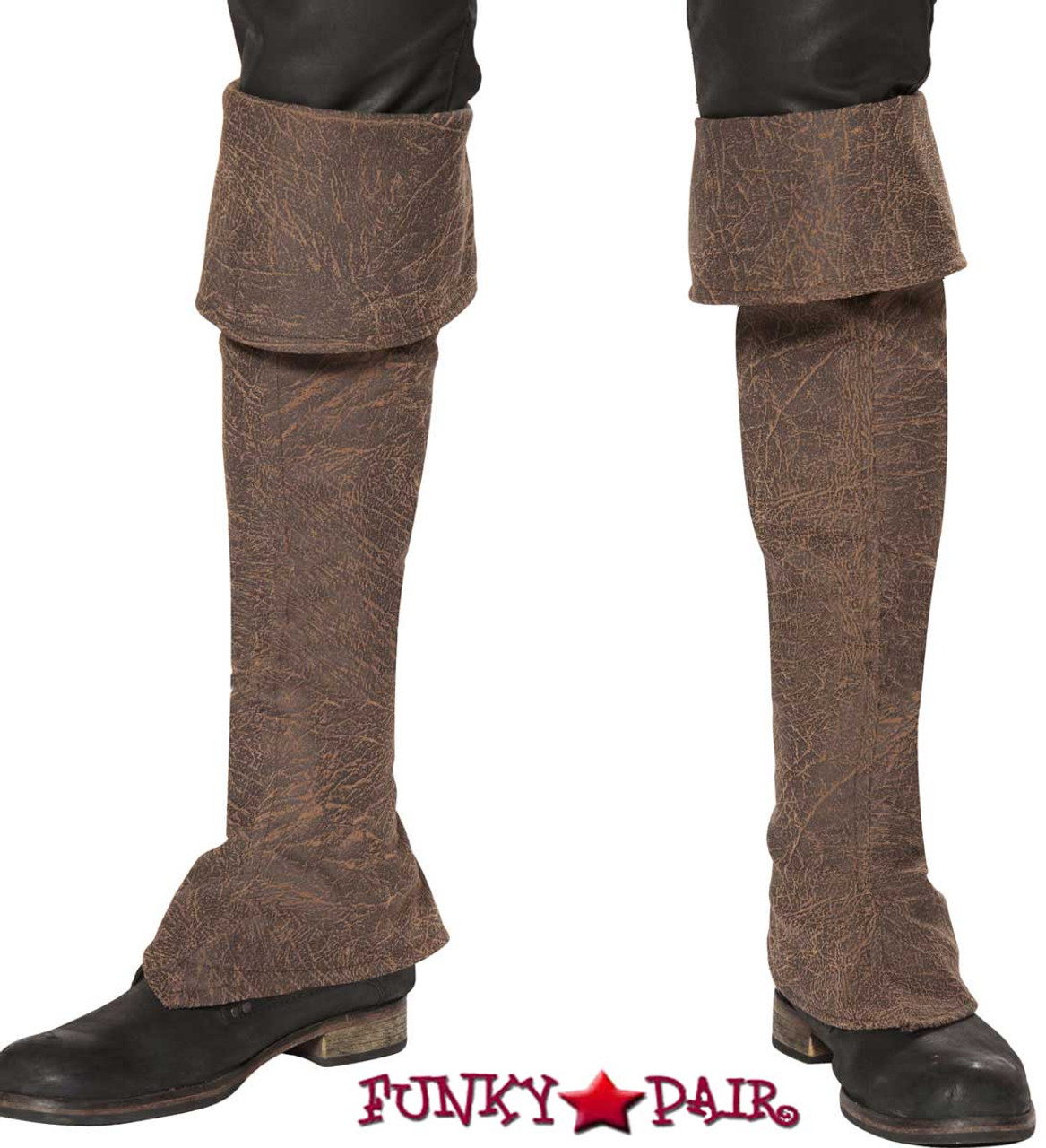 Pirate Boot Covers Roma Costume | R-4650B
