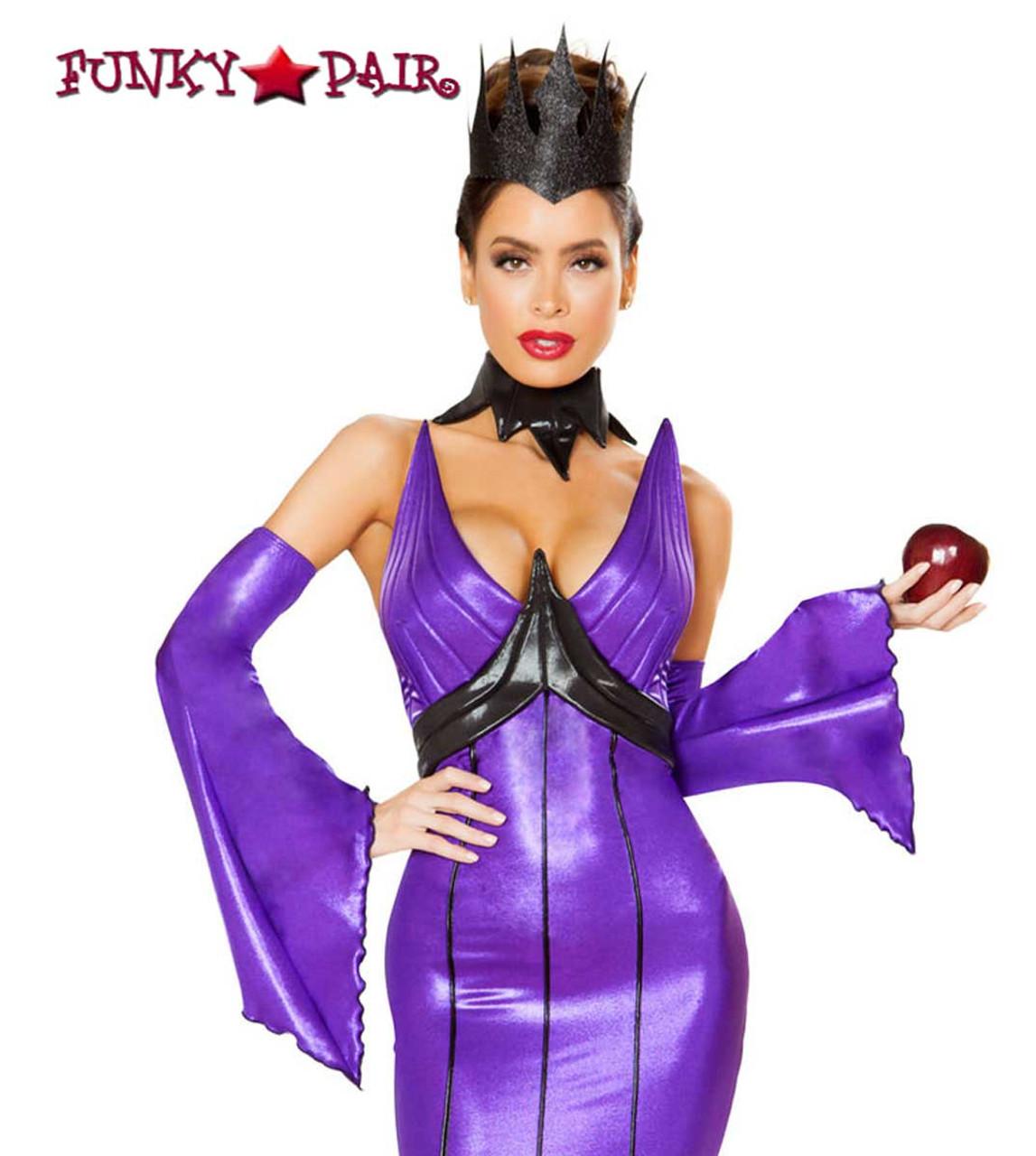 High Low Witch Costume Dress Purple Black Velvet Satin Hat Midnight Fiji Wicked