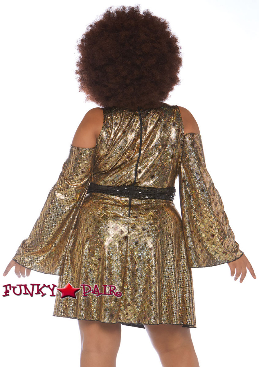Plus Size Disco Diva Costume LA-86780X