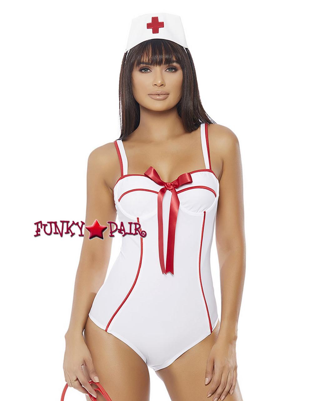 f03eb050570b6 ForPlay | FP-558754, Sexy Nurse Romper Costume