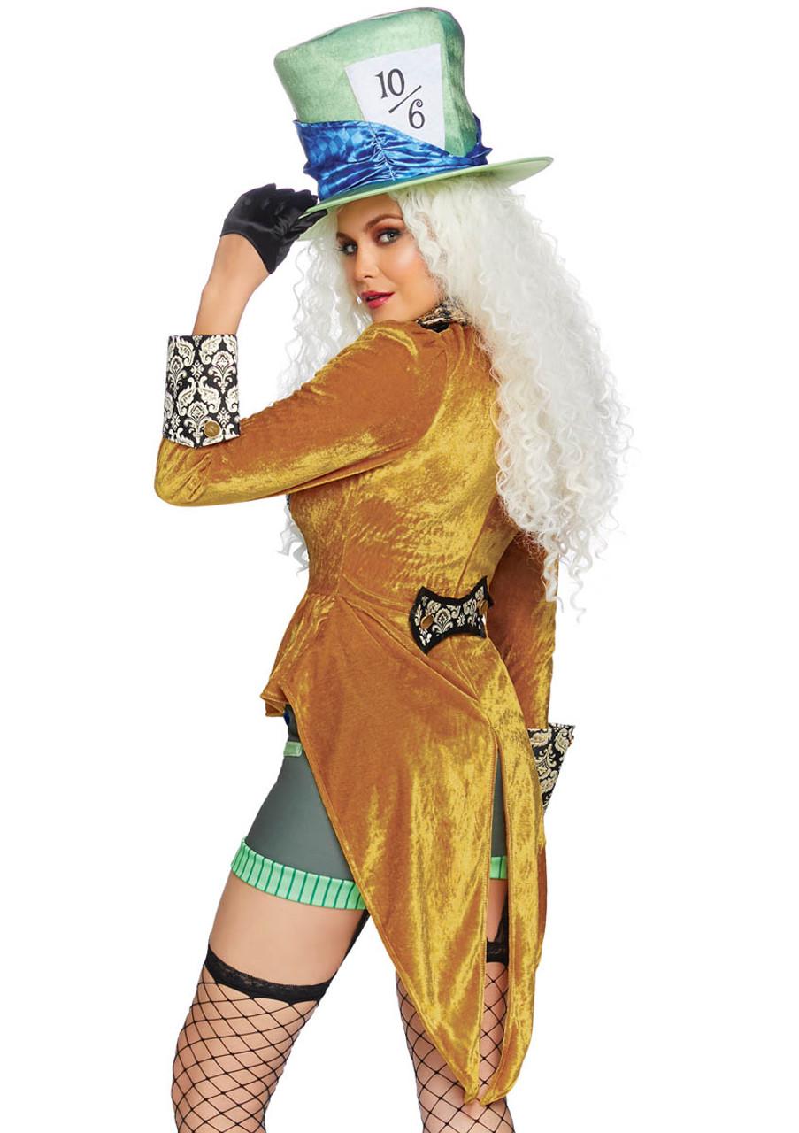 New Leg Avenue 86875 Men/'s Classic Mad Hatter Costume