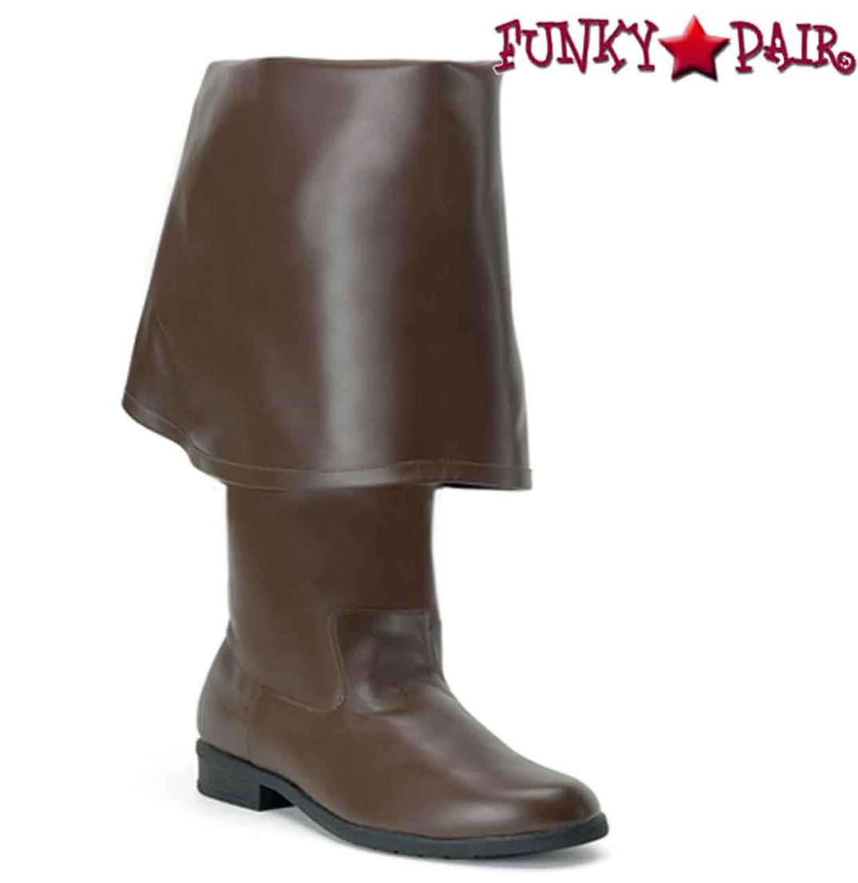 Funtasma MAVERICK-8824 Men/'s Pirate Medieval Costume Renaissance Knee High Boot