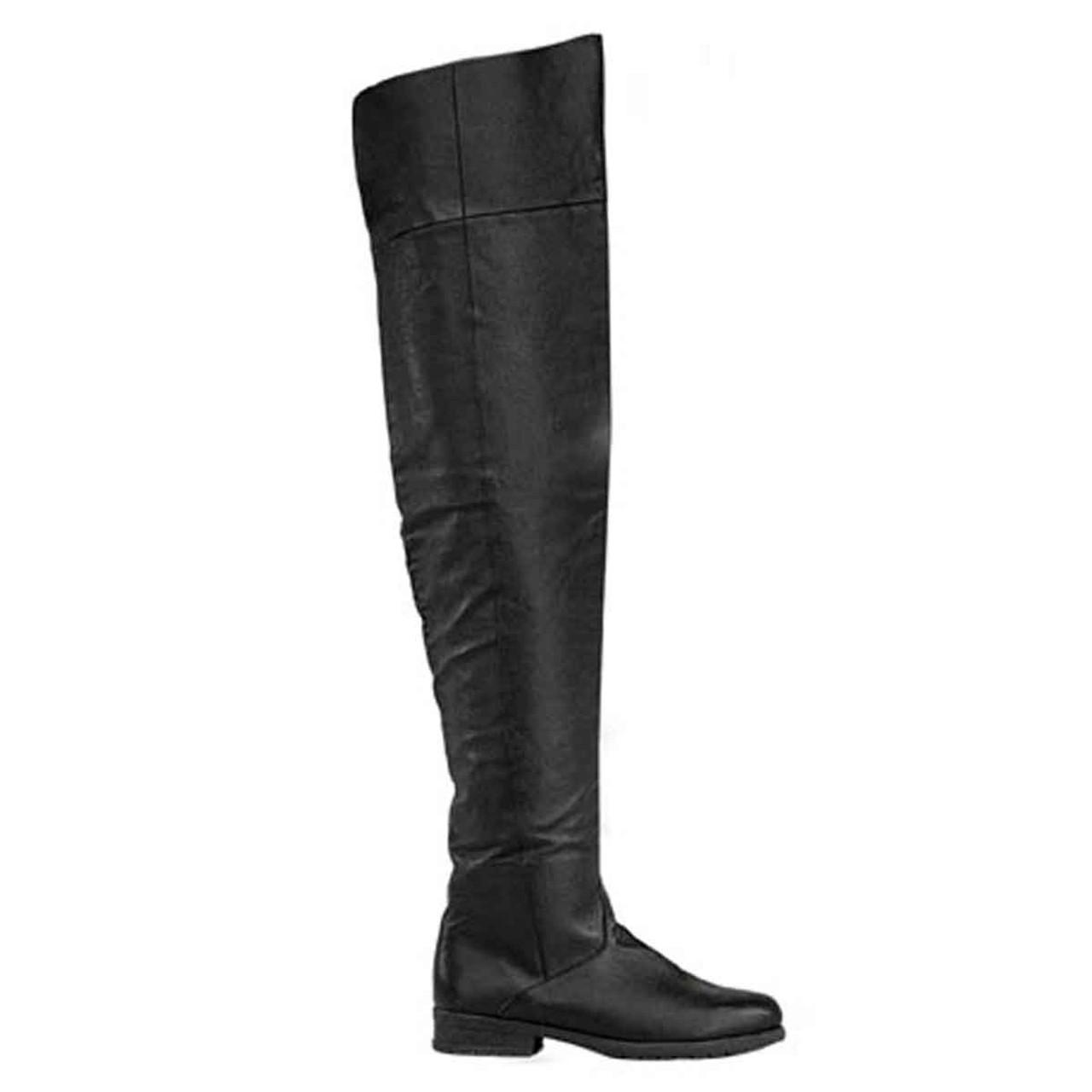Maverick-8824 Men's Flat Thigh High Boots