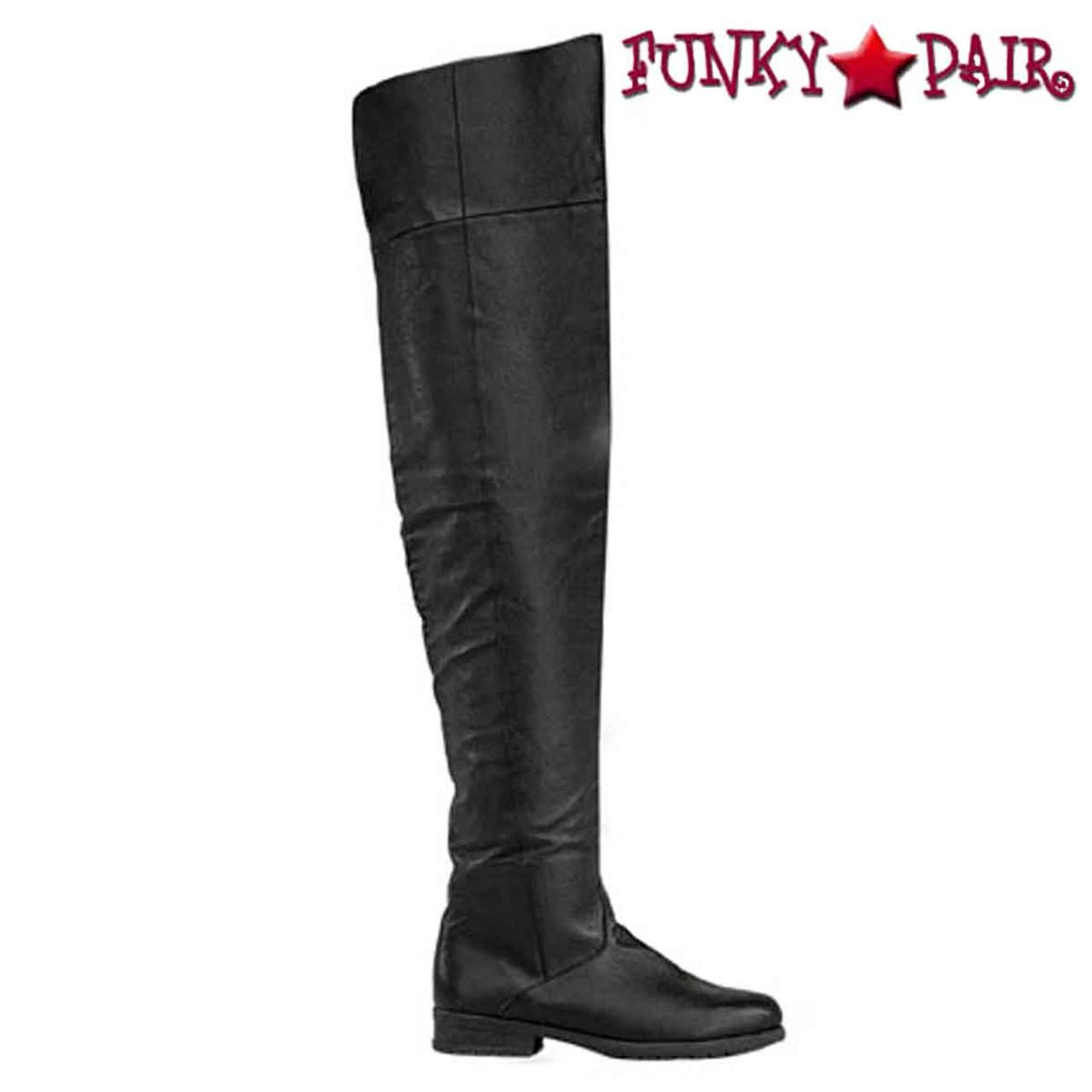 Thigh High Flat Boots Size 11