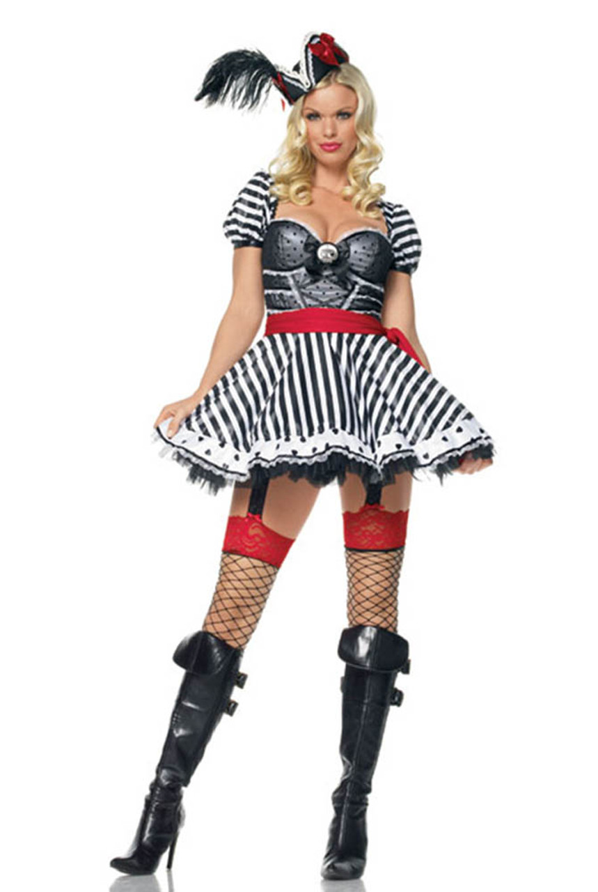 Leg Avenue | LA-83378, Treasure Chest Pirate Wench Costume