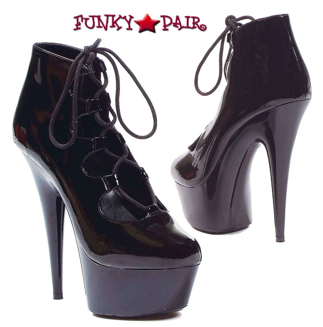 7e020a1d50 609-Edgy, 6 Inch High Heel with 1.75 Inch Platform Mary Jane Made by
