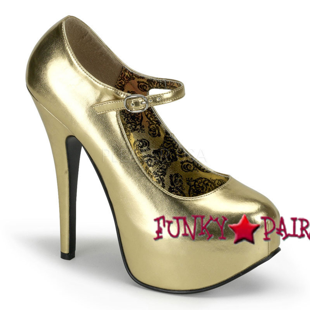 Bordello by Pleaser Womens Teeze-07 Pump