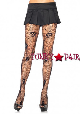 9935Q, Scary Skull Web Pantyhose