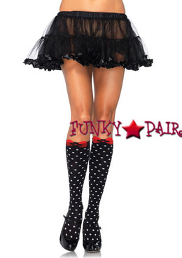 5599, Polka Dot Knee Highs
