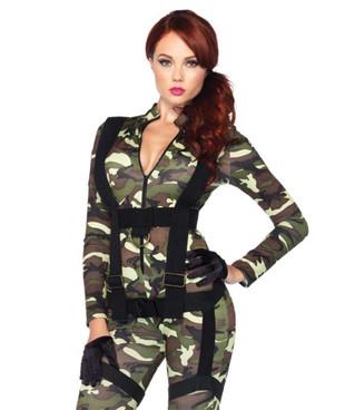 Leg Avenue   LA-85166, Pretty Paratrooper Costume
