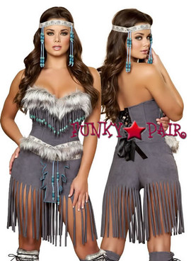 sexy indian native costumes R-4428, Indian Hottie Costume