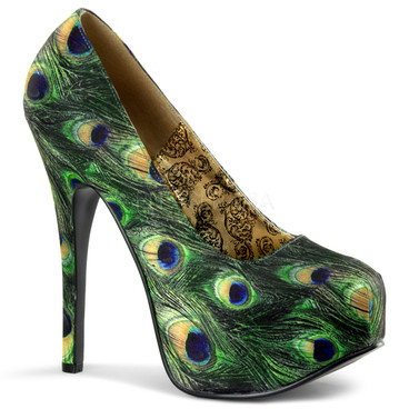 Bordello | Teeze-06-5, Peacock Pump