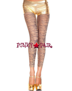 ML-35806, Tiger Print Leggings