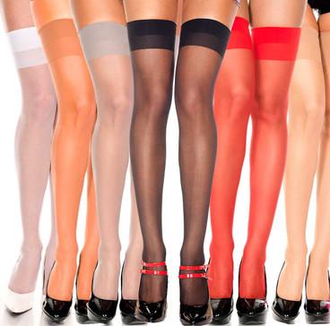 Sheer Stockings ML-4101 by Music Legs