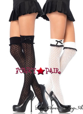LA-6900, Crocheted Over Knee Socks