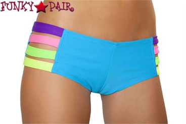 J Valentine | SF135, Band Short Color Turquoise/Multi
