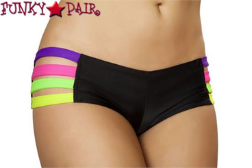 Rave Wear Band Short SF135 Color Black/Multi