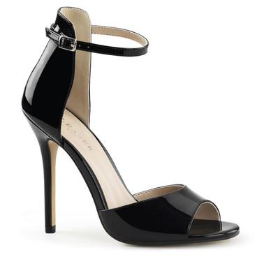 Pleaser Amuse-14, Close Back Ankle Strap Sandal