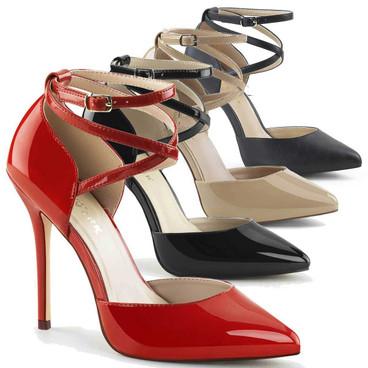 Pleaser Shoes Amuse-25, D'Orsay Pump