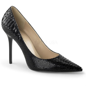 Classique-20SQ, 4 Inch Point Toe Pump  Made By PLEASER Shoes