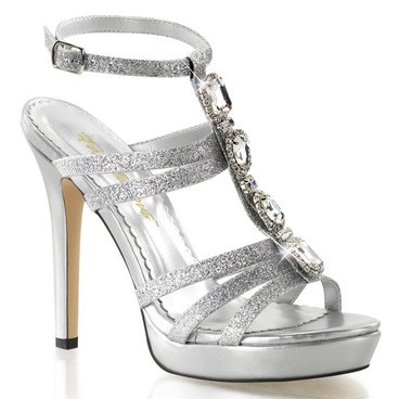 "4.75"" Evening T-Strap Sandal Fabulicious | Lumina-22,"