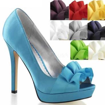 "4.75"" Heel Dressy Peep Toe Pump abulicious | Lumina-42"