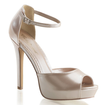 "Fabulicious | Lumina-45, 4.75"" Evening Peep Toe D'orsay Pump"