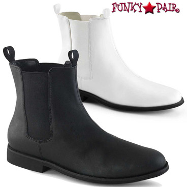 Funtasma | Trooper-12, Men's Pull on Chelsea Boot