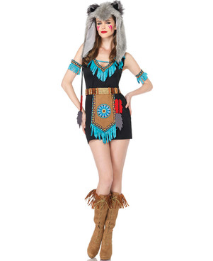 Wolf Warrior Costume (LA-85205)