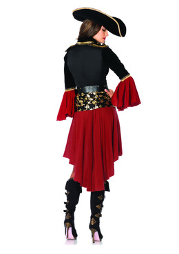 LA-85214, Cruel Seas Captain Costume Back