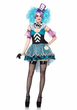 LA85227, Manic Mad Hatter Costume