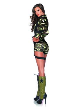 LA-85292, Goin' Commando Girl Costume Back