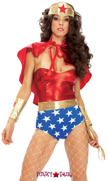 FP--551307, Super Seductress - Adult Superhero Costume