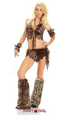 FP--551800, B.C. Beauty Sexy Cavewoman Costume Full View