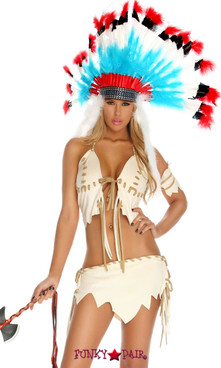 FP--553438, Tribal Tease Indian Costume