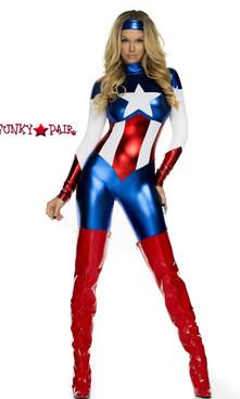 FP-554700, Astonishing Allegiance Sexy Hero Costume