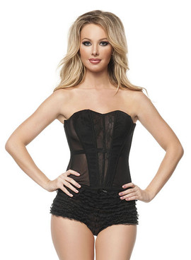 C1398, Lace See Through Corset Made by Mysery House