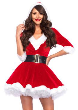 LA85356, Mrs. Claus Outfit