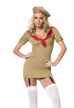 Trooper girl costume (83047)