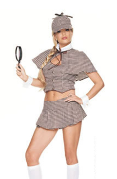 Detective girl costume (83003)