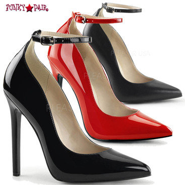 Pleaser | Sexy-23. Ankle Strap Pump
