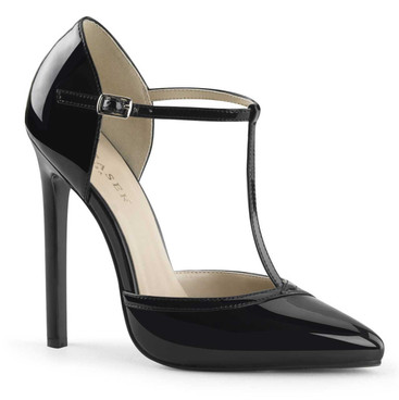Sexy-27, 5 Inch, T-strap D'orsay Pump Pleaser Shoes