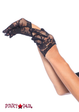 3751, Mini Cropped Lace Gloves